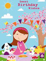Прикольная открытка для сестры