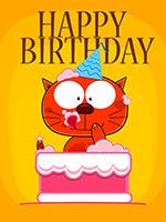 Голосовая открытка на День Рождения